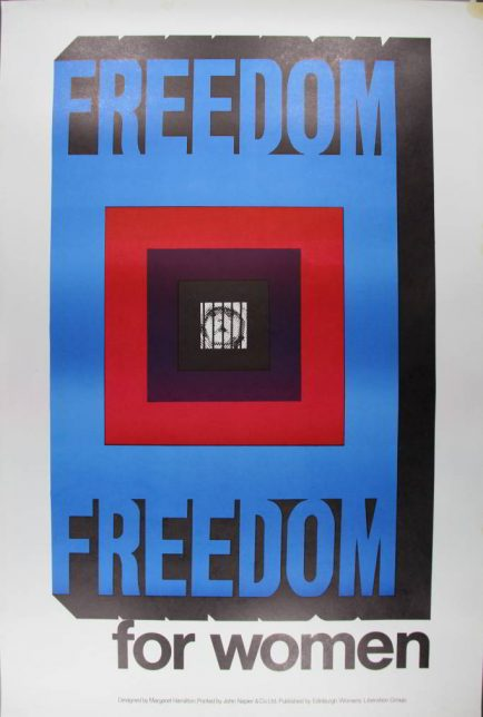 Freedom for women poster