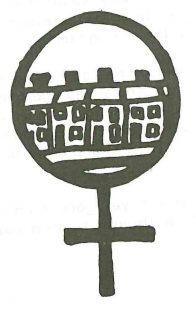 Woman Symbol Housing. Illustration, Scottish Women's Aid newsletter, Spring 1987, page 24.