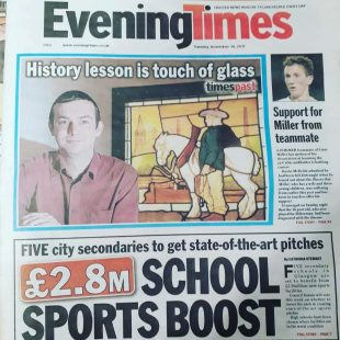 evening times seeing things coverage