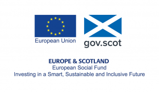 European Social Fund: Investing in a Smart, Sustainable and Inclusive Future (logo)