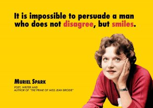 Muriel Spark Centenary Celebration Design by Daisy Williams