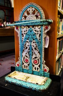 Suffragette Umbrella Stand Credit: Heather Gibson