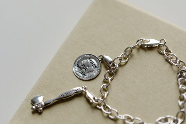 From GWL Charm Bracelet designed by Joy BC & Ruth Ewan