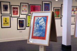 'Sisterhood is Powerful' exhibition, (curated from GWL poster collection) 2017