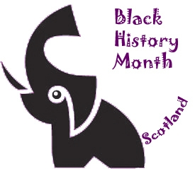 Black History Month Scotland logo