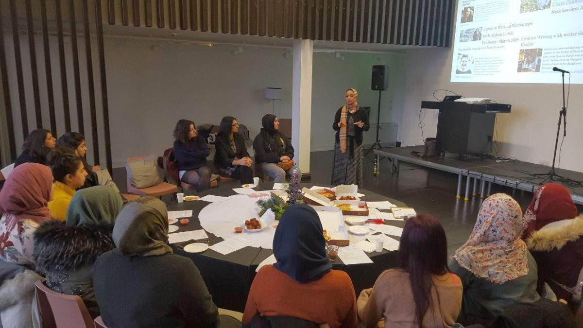 Creative Writing Workshop for Muslim Women, 2018. Credit: GWL