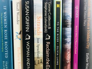 Women in the Landscape Spines of Ecofeminism and Nature Books in the Collection