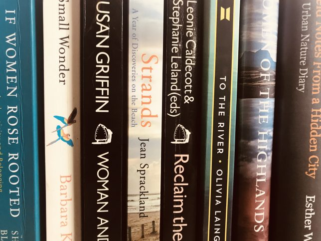 Women in the Landscape Spines of Ecofeminism and Nature Books in the GWL Collection