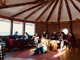 Our Space Our Place Women in the Landscape Creative Writing Session at Moniack Mhor Creative Writing Centre, October 2018.
