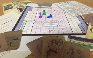 Panko and Suffragetto. Suffrage boardgames