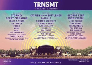 The lineup of TRNSMT Festival
