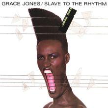 Artwork for Grace Jones' single.