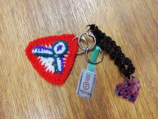 crochet bag charms