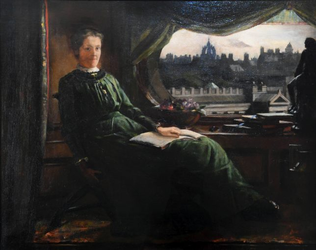 Portrait of Anna Morton Geddes. Credit: SHBT and family of John Knox Ferguson