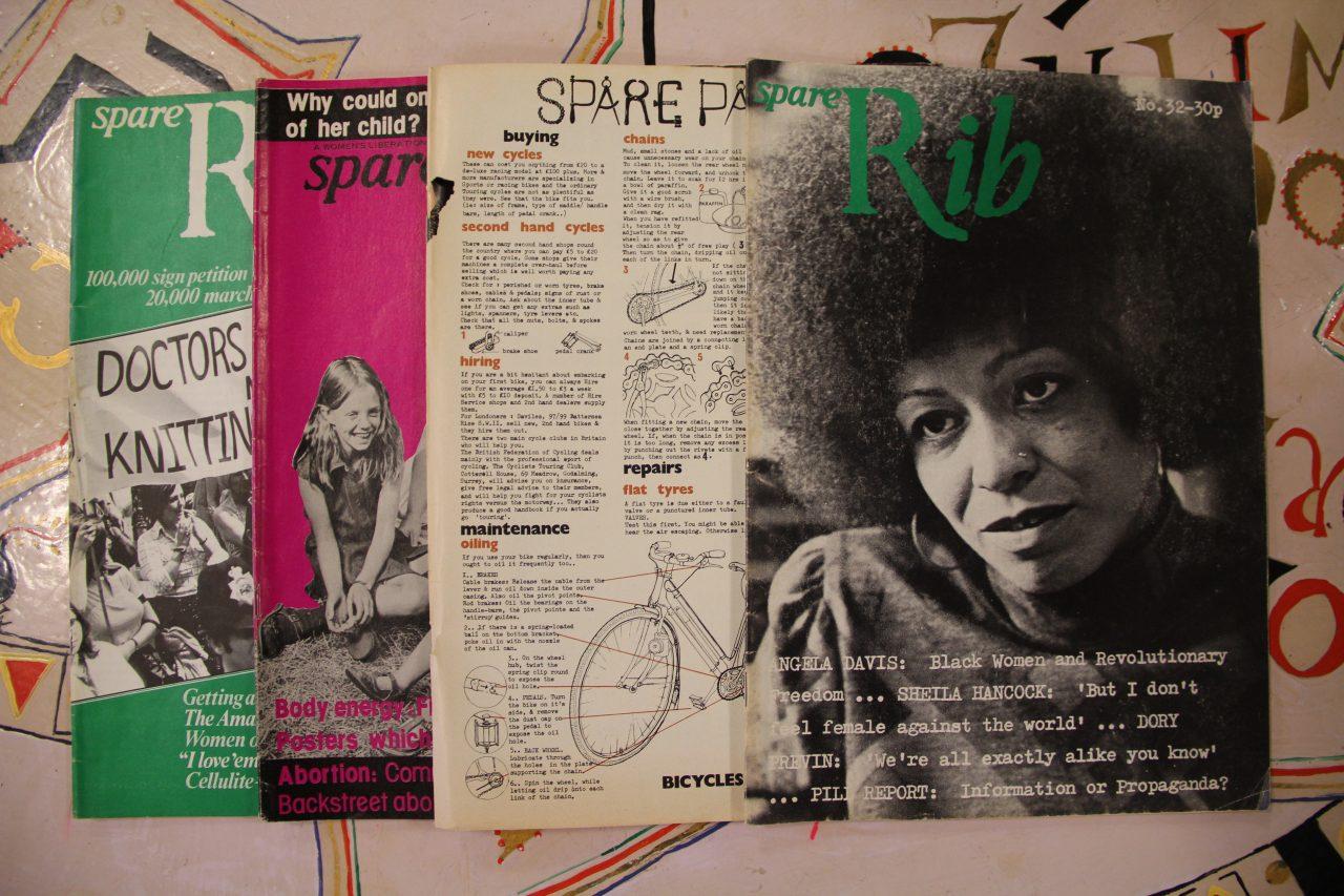 Spare Rib magazines. Credit: GWL