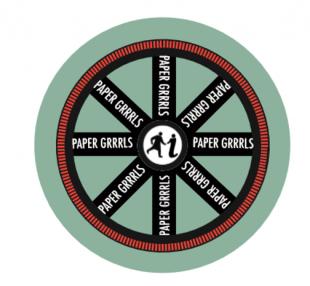 Paper Grrl Badge
