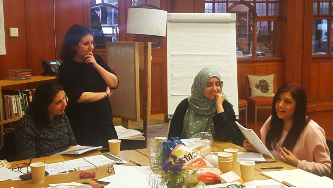 Writing for Performance – Playwriting for Muslim Women. Credit: GWL