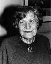 BW image of writer Jessie Kesson