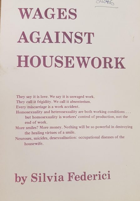 Wages against housework