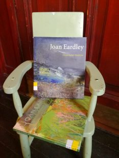 Joan Eardley books showing her colourful and textural landscapes.