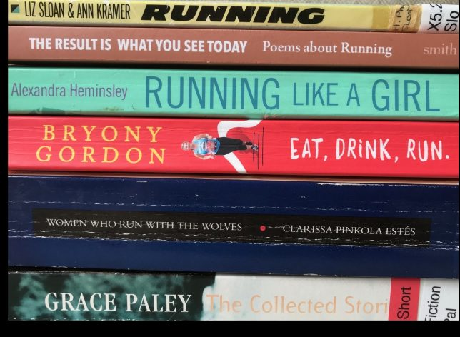 Books on Women and Running, GWL Collection. Credit: GWL