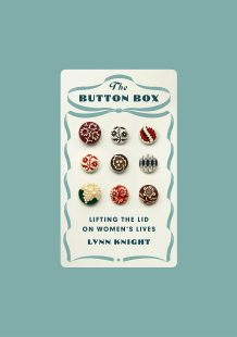 Cover with old fashioned writing and showing 9 different buttons neatly lined up to make a square.