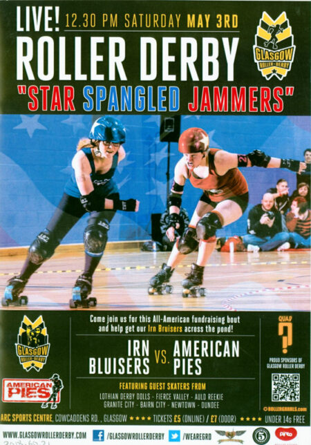 Roller Derby Bout Programme