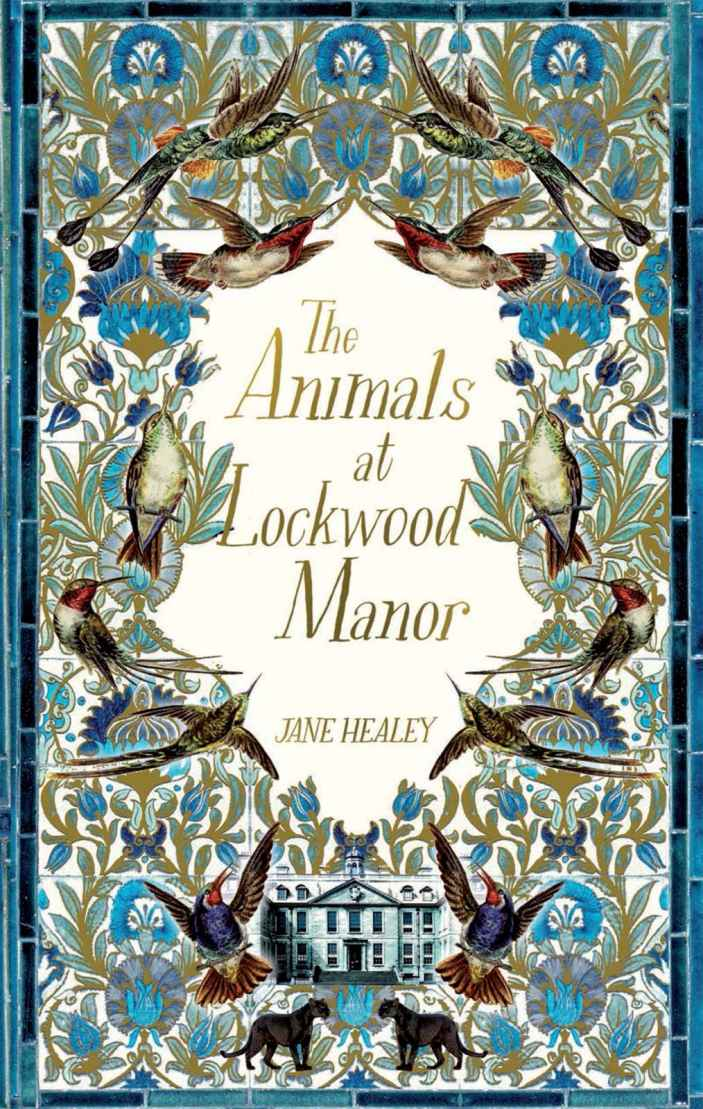 Animals At Lockwood Manor Book Cover.