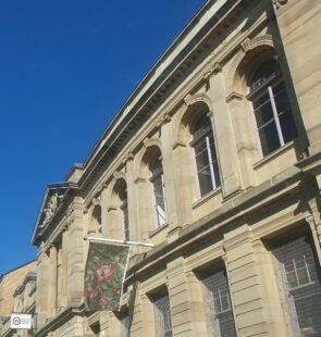 The GWL building under blue skies