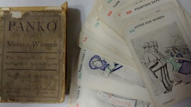 Panko, card game, manufactured by Peter Gurney, 1909