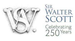 Sir Walter Scott celebrating 250 years logo