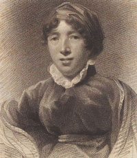 Portrait of writer Elizabeth Hamilton. Credit: NLS