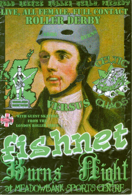 Bout Programme: ARRG presents Fishnet Burns Night Highland Heathers vs Celtic Chaos