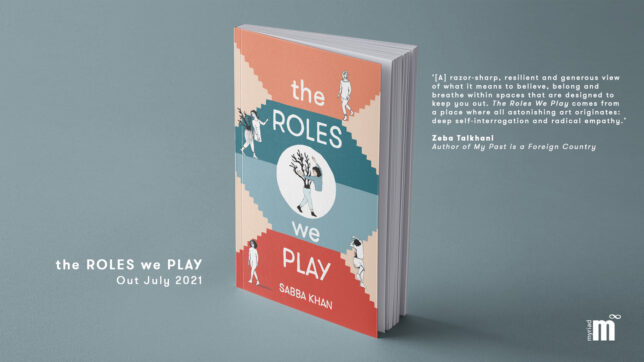 The Roles We Play Book Cover, Sabba Khan