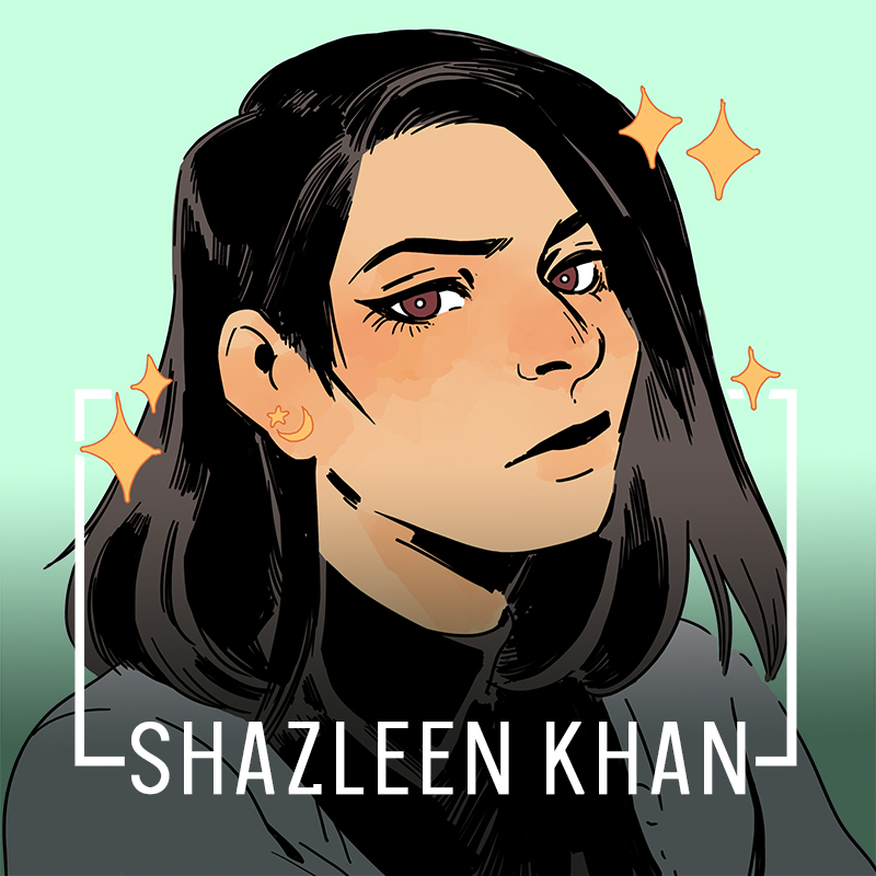 Illustration of Shazleen Khan