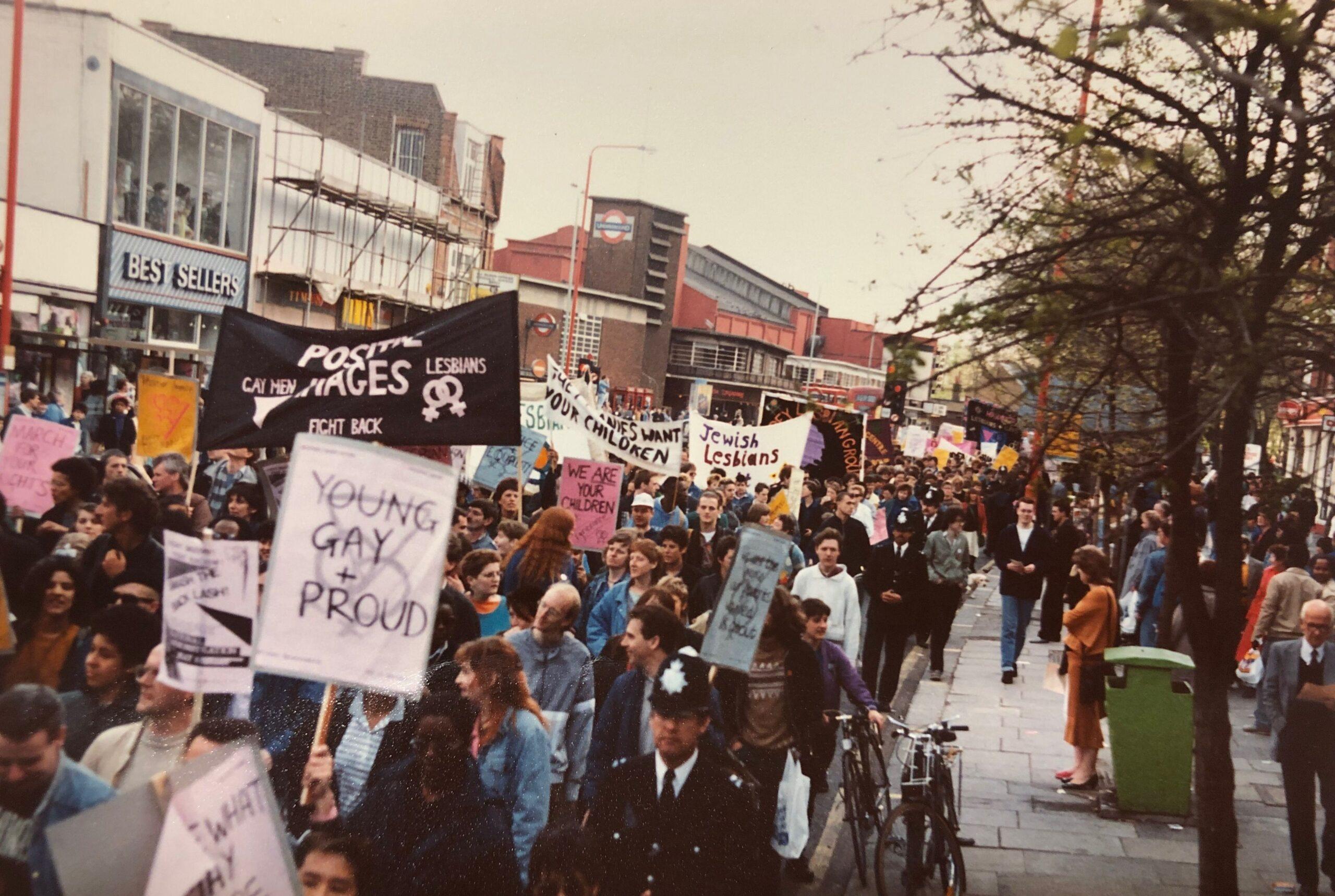 Smash the Backlash Demonstration 1987